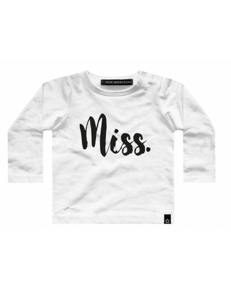 Your Wishes Longsleeve Miss Your Wishes