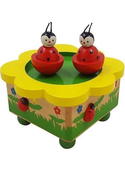 Muziekdoos lieveheersbeestjes