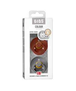 Set Bibs spenen rust/smoke