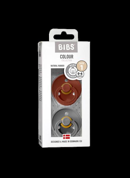 Bibs Set Bibs spenen rust/smoke