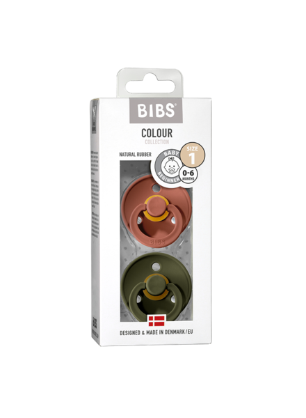 Bibs Set Bibs spenen woodchuck/hunter green