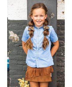 Denim blouse (5140) B-nosy