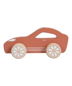Houten sportauto