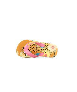 Slippers luipaard