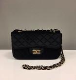 Bag Velvet Chain Black