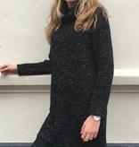 Sweater Long Glitter Lace Black 6115