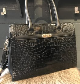 Bag Boss Croco Black