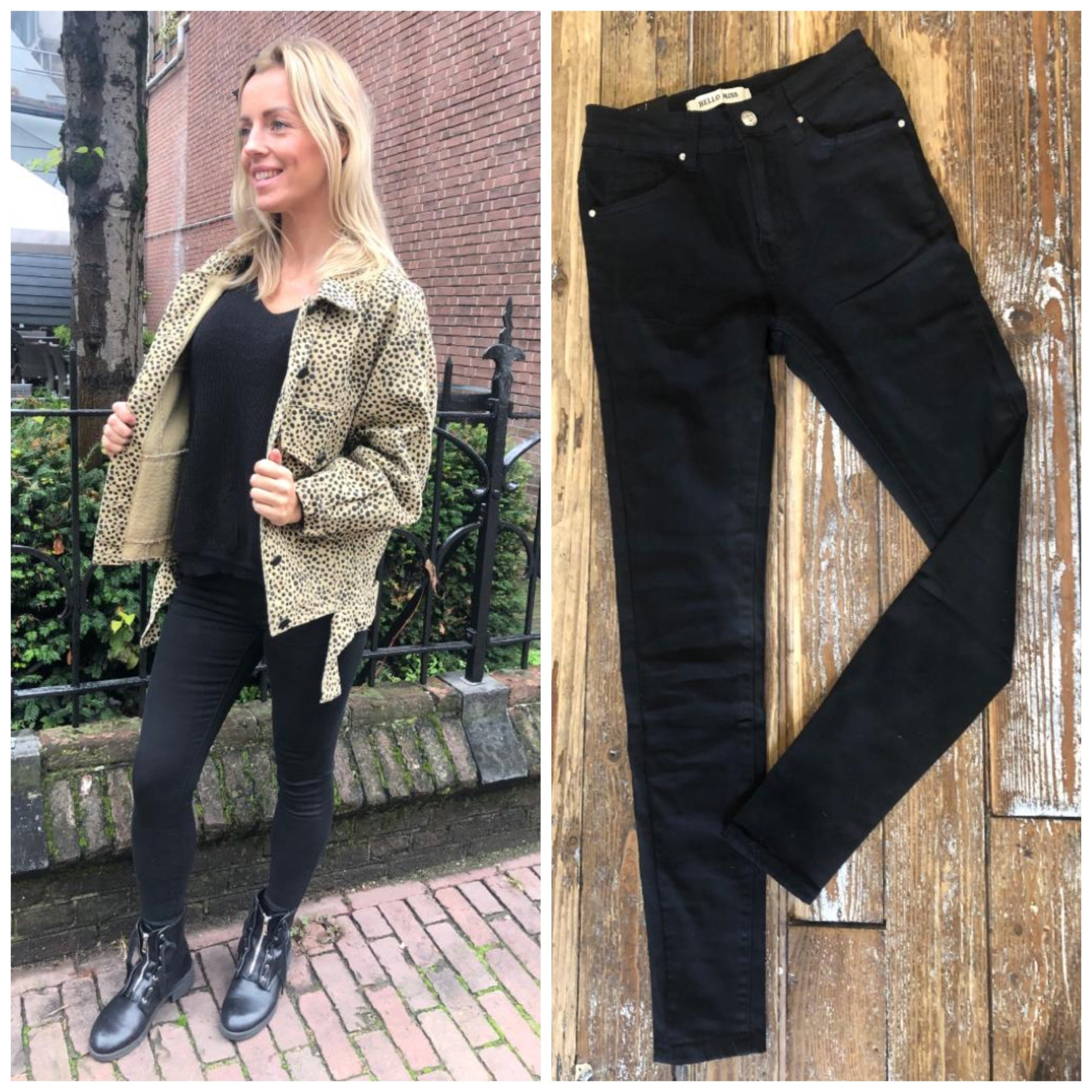 003 Hello Miss Jeans Basic Black