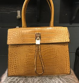 Bag Chique Croco Ocre