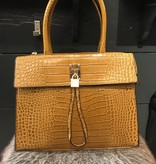 Bag Chique Croco Ocre