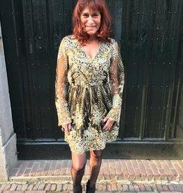 811437 Danity Dress Indy Sparkle Gold