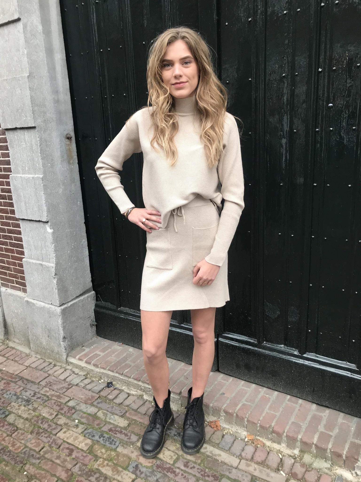 1335 Purple Queen Comfy Suit Short Skirt
