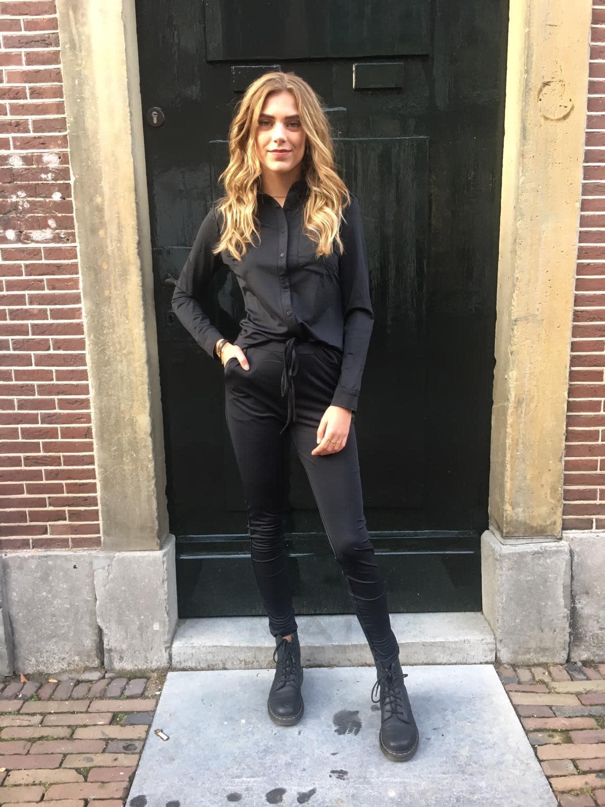 906 TwinSuit Travel Pants & Blouse Black