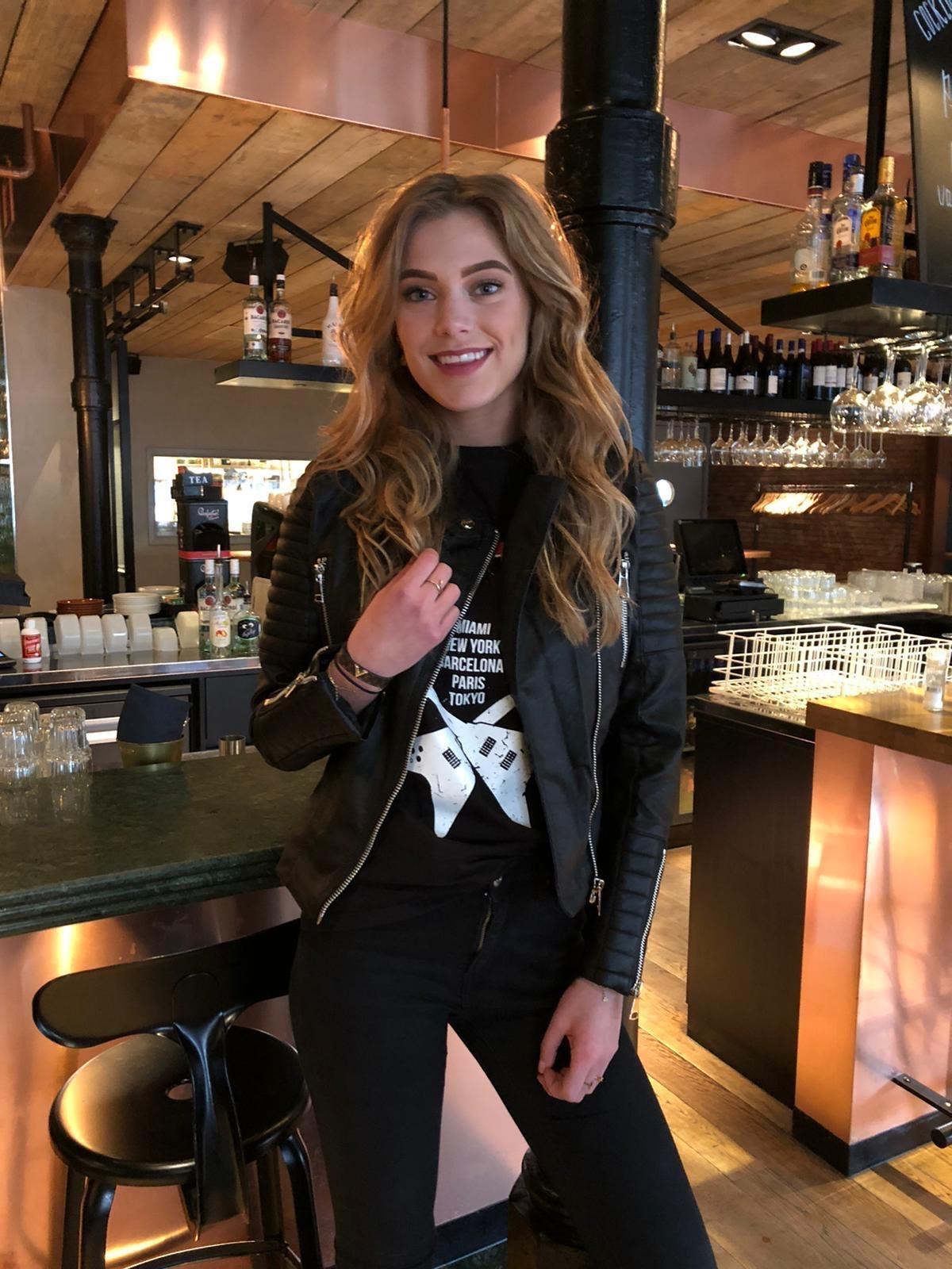 Crazy Lover Jackets Biker Leather Black