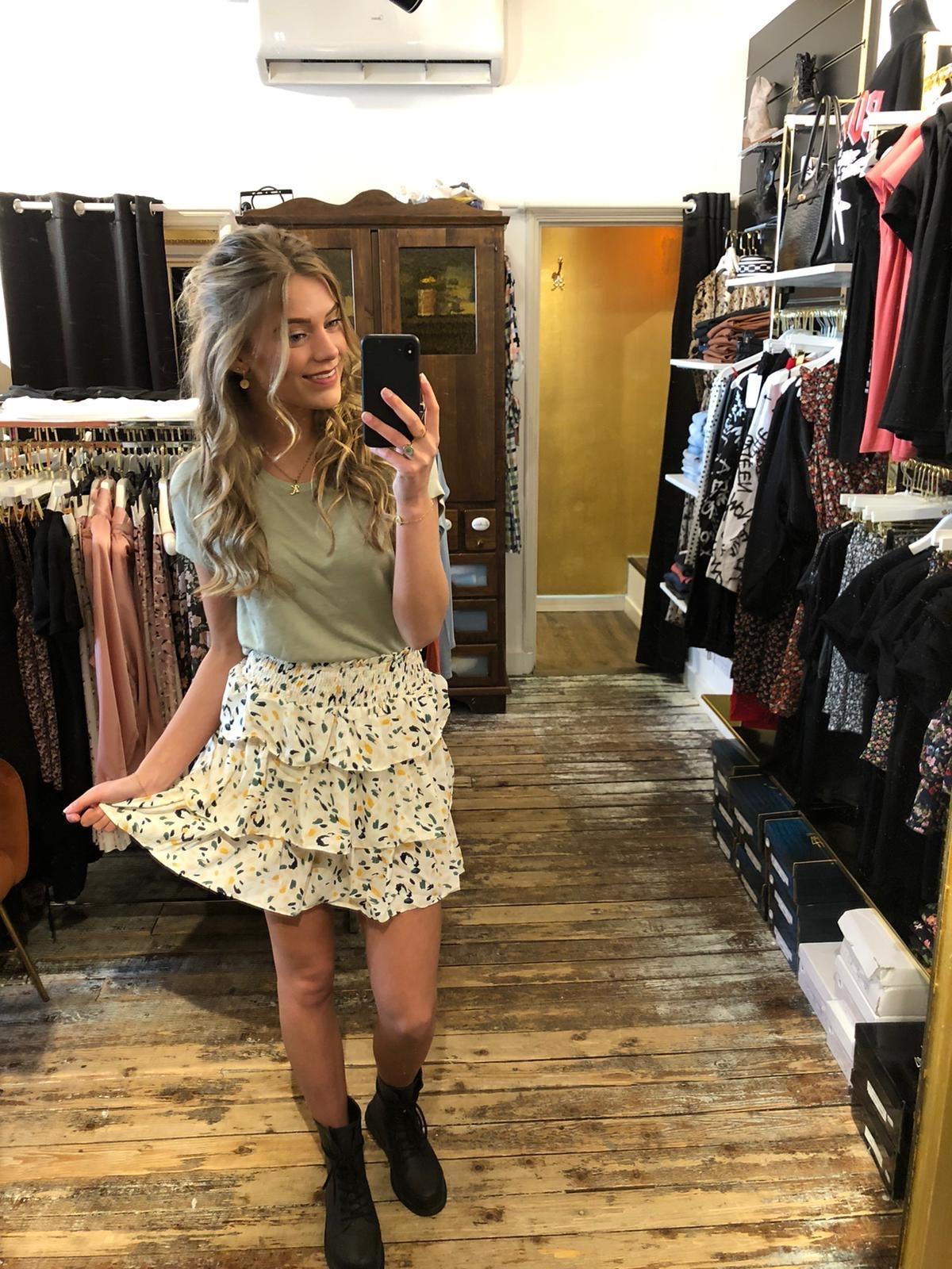 400 Skirt Happy Summer Beige