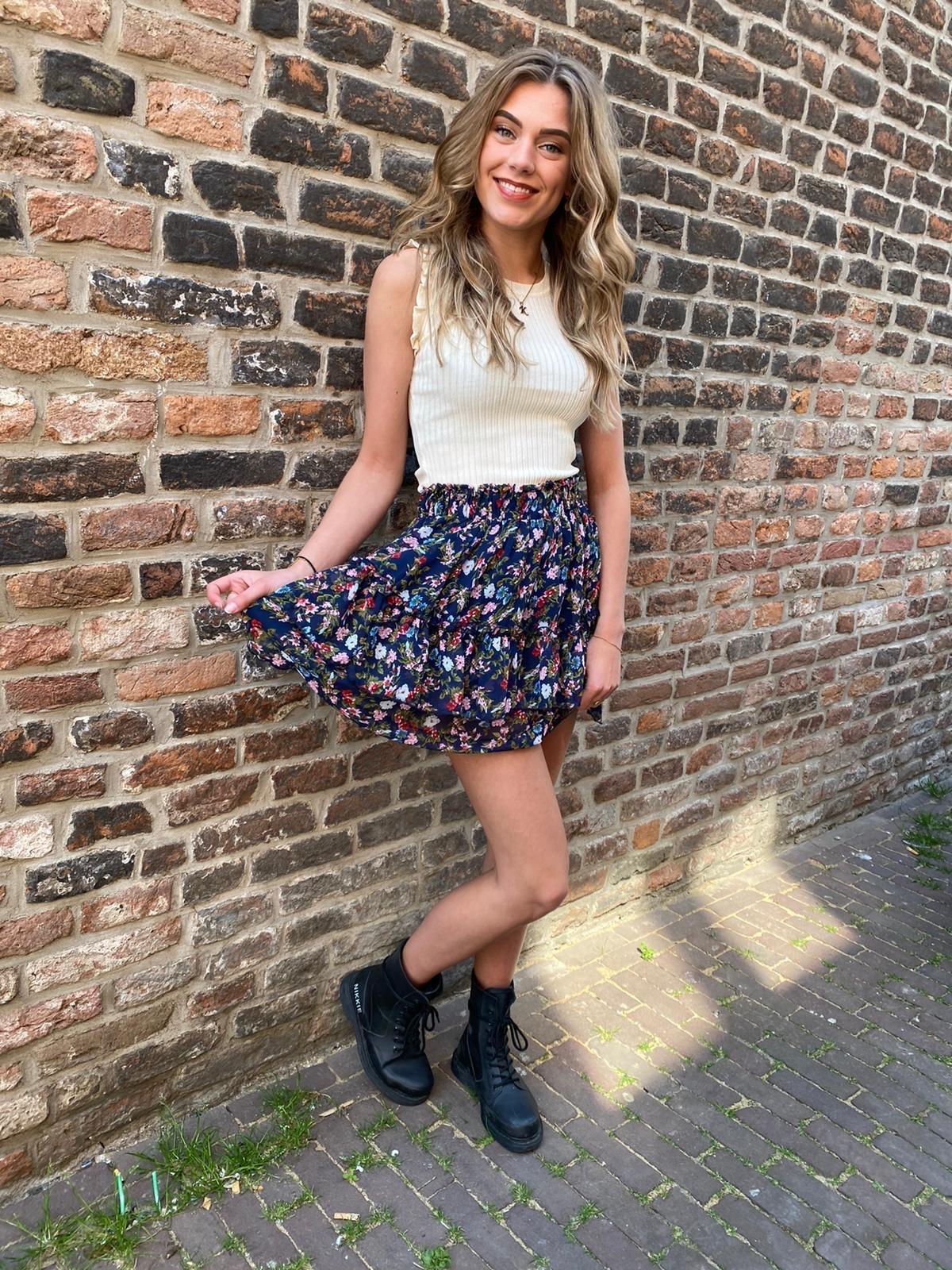 2233 Skirt Niccie Blue