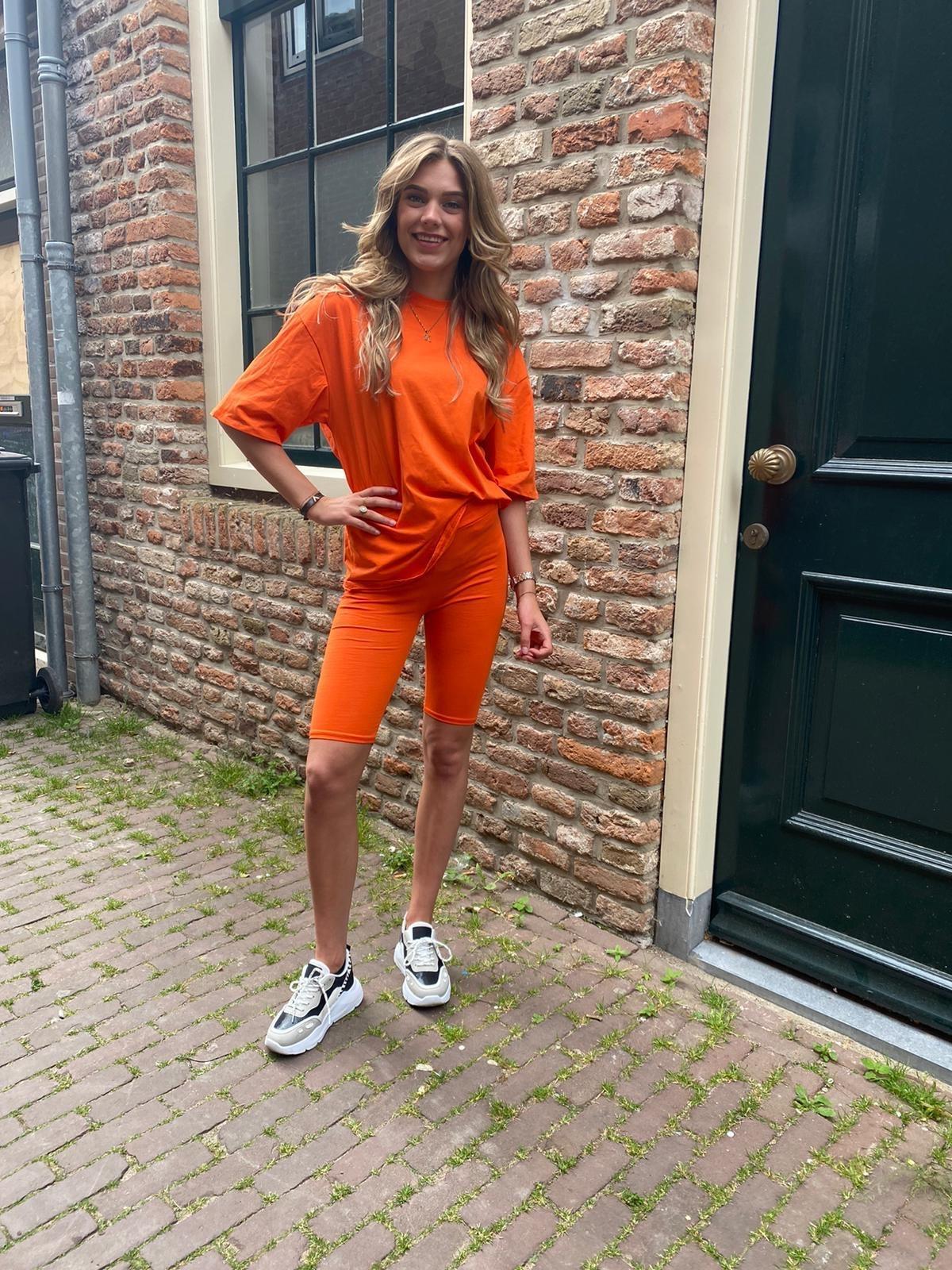 650 Twinsuit Basic Summer Orange