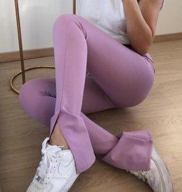 069 Eight Paris Pants Split Lila