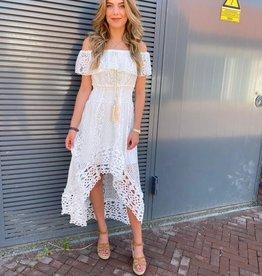 6118 Dress Love Ibiza White