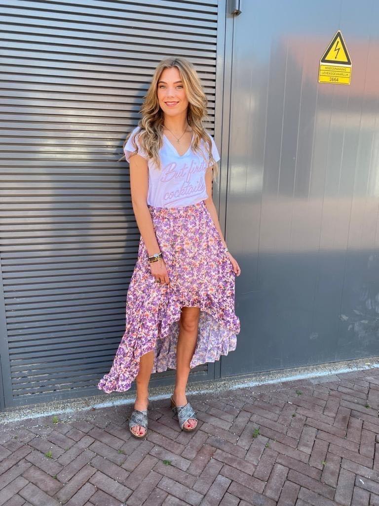 0110 Adilynn Skirt Lilas