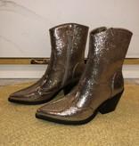 539 Sergio Todzi Boot Cowboy Glitter Gold