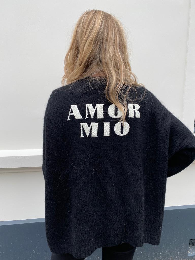2001 Carla Giannini Vests Amor Mio Black