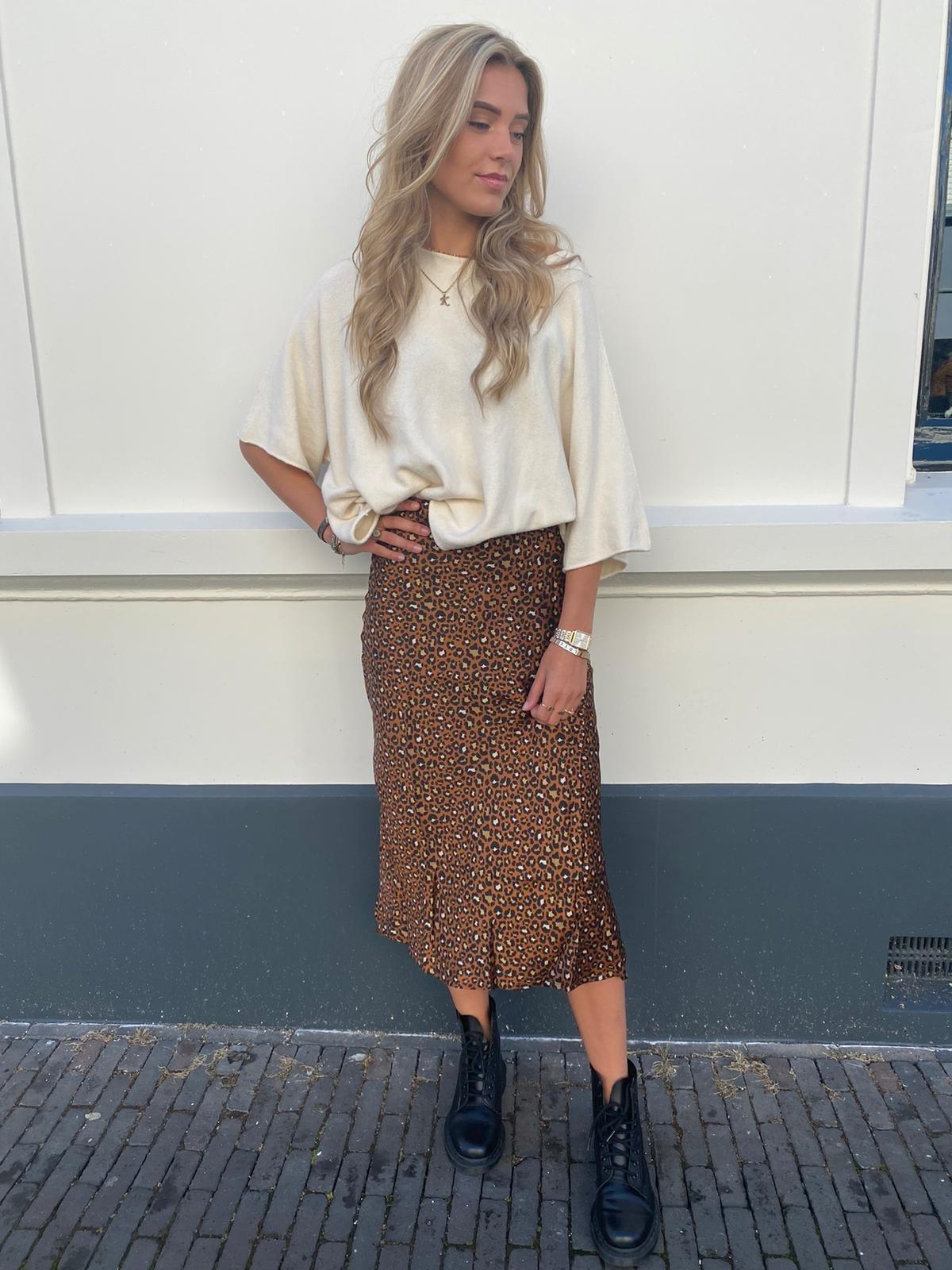 995 Kilky Skirt Panter Camel