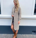 2012 Dins Tricot Vests Knitted Taupe