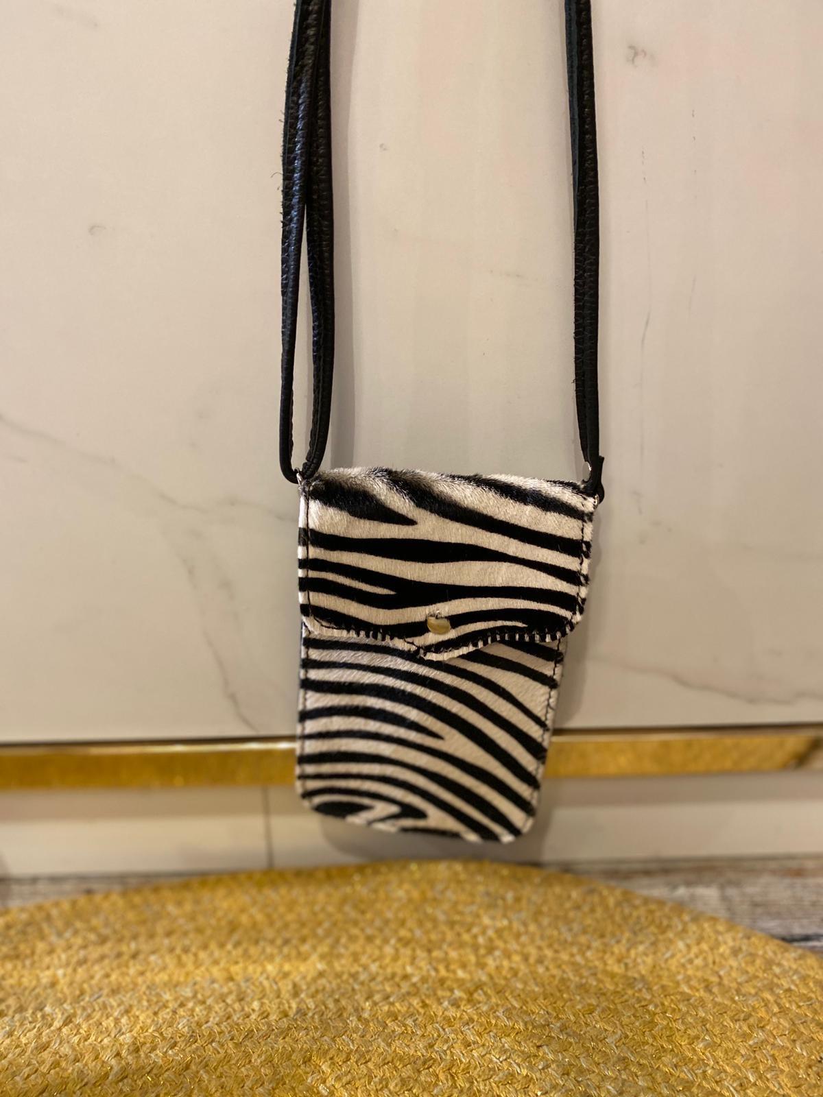 2015 Lipstick Bag Zebra