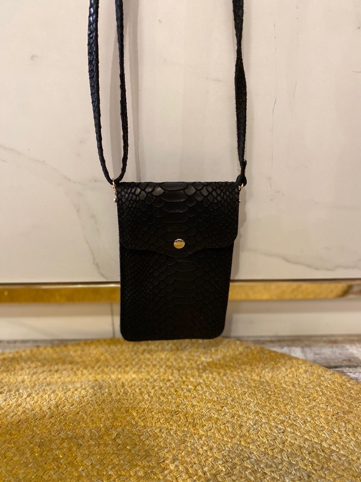 2015 Lipstick Bag Snake Black