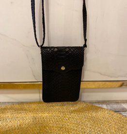 2015 Lipstick Bag Snake Black