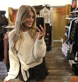 1116 Moda Valentina Cardigan Knit Off White