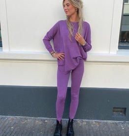 9818 Kaylla Comfy Suit Violet