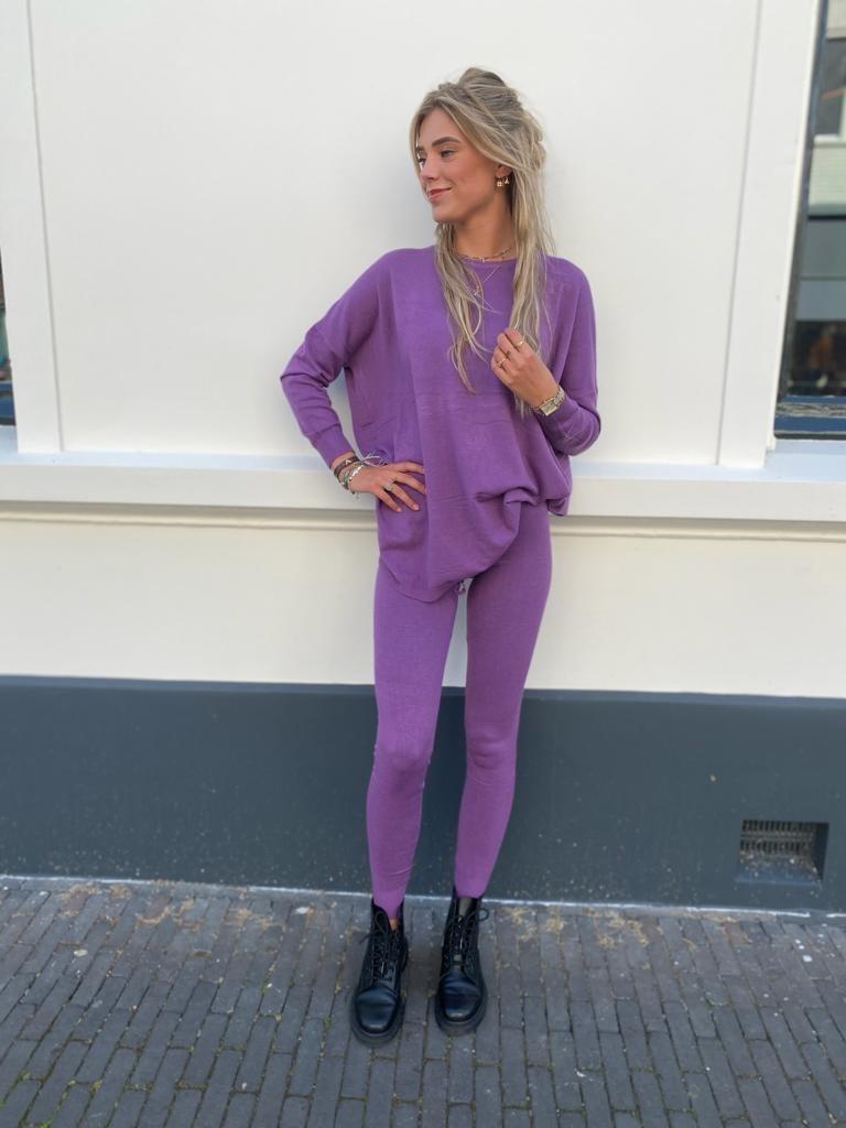 9818 Kylla Comfy Suit Violet
