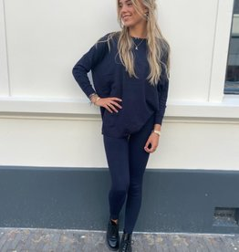 9818 Kaylle Comfy Suit Dark Blue