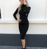 8586 Studio 21 Dress Basic Col Black