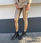8300 Pant's Leather Legging Gold