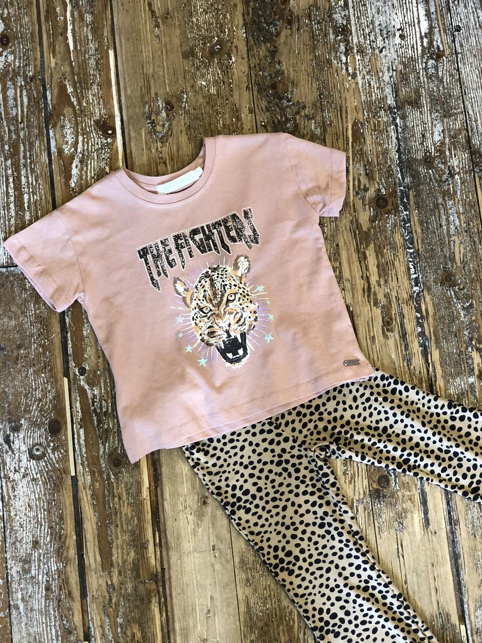 Kids Ambika T-shirt Tahnee Old Pink