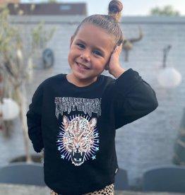 Kids Ambika Sweater Kiki Tiger Black