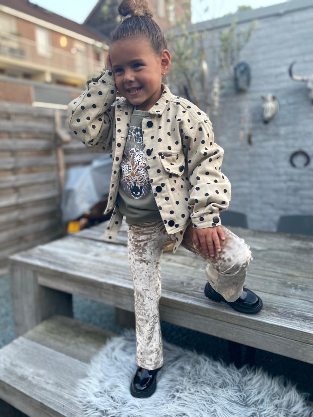 Kids Ambika Flared Pants Peg