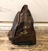 2029 Travel bag Leather Brown