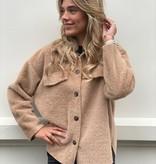 Ambika 2031 Ambika Fake Fur Coat Beige