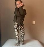 Kids Ambika cardigan Knit Army Green