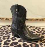 527 Cowboy Boots Black