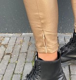 2034 Ambika Norma Leather Pants Gold