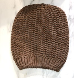 Cap Knitted Camel