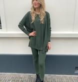 908 Purple Queen Comfy Suit Sweater Pants 2.0 Green