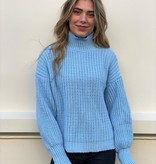 2068 Jumelle Perfect Basic Knitted Sweater Blue