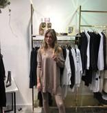 1025 Design Comfy Suit Sweater Pants Apricot