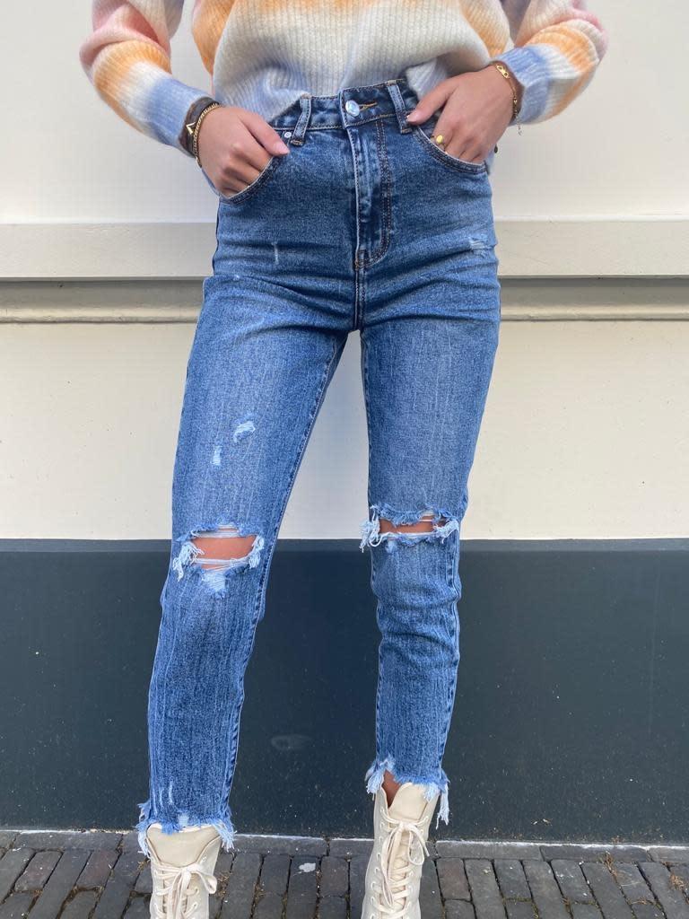 350 Miss Bonbon Jeans Lyam Blue